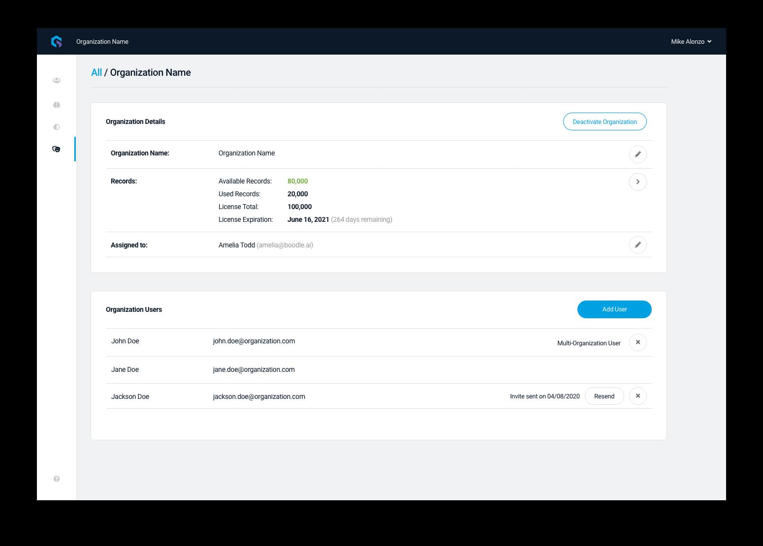 03a Super Admin - add multi org user